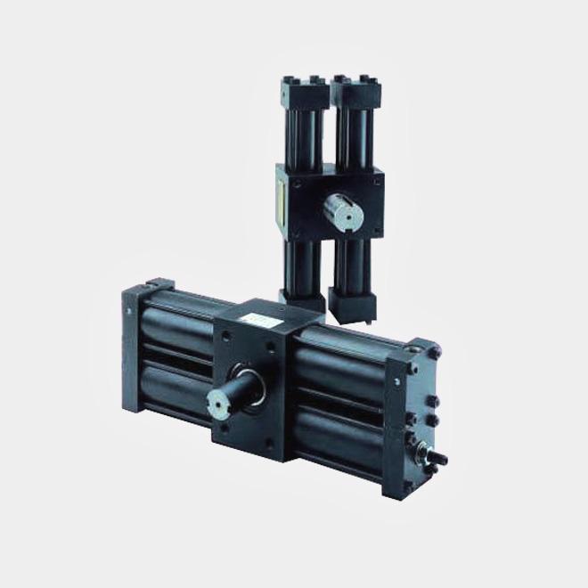 Hydraulic Rack And Pinion Rotary Actuator Rotary